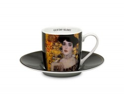 Puodelis espresso su lėkštele KLIMTO ADELĖ