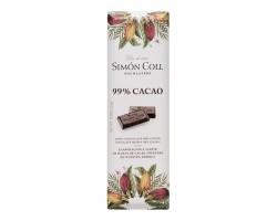 Juodasis šokoladas SIMON COLL 99%, 25g