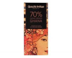 Juodasis šokoladas GHANA 70%, 70g