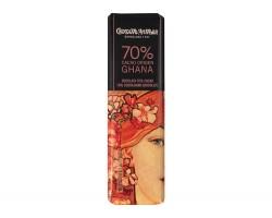 Juodasis šokoladas GHANA 70%, 18g
