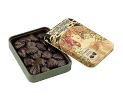Juodasis šokoladas lapeliais AMATLLER 70%, 60g