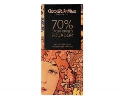Juodasis šokoladas ECUADOR 70%, 70g