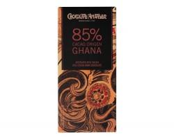 Juodasis šokoladas GHANA 85%, 70g