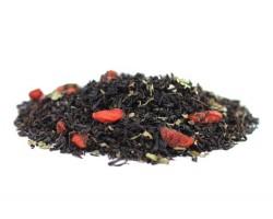Juodoji arbata su GOJI UOGOMIS
