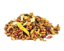 Vaisinė MANGŲ ir PIPIRIUKŲ arbata su stevija